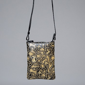 Horse-themed women`s shoulder bag, Taru