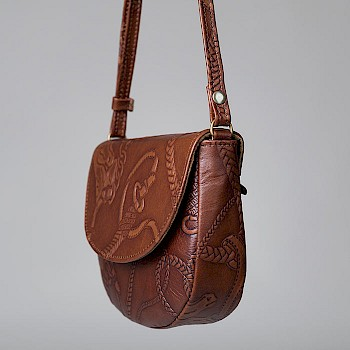 Horse-themed women`s shoulder bag, Mimi