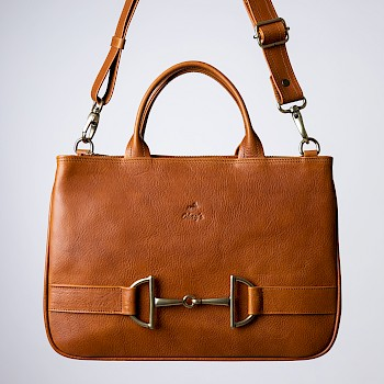 Horse-themed women`s handbag, Freija