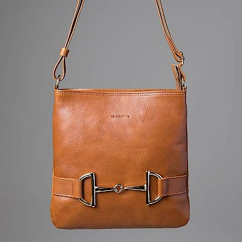 Horse-themed women`s shoulder bag, Venla