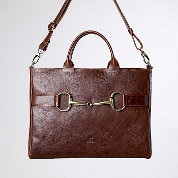 Horse-themed women`s business bag, Frida