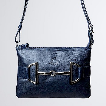 Horse-themed women`s shoulder bag, Arla