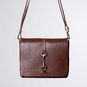 Horse-themed women`s shoulder bag, Iiris