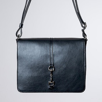 Horse-themed women`s shoulder bag, Saara