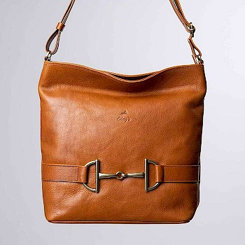 Horse-themed women`s shoulder bag, Elina