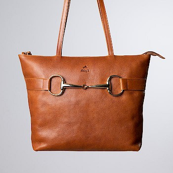 Horse-themed women`s shoulder bag, Maria