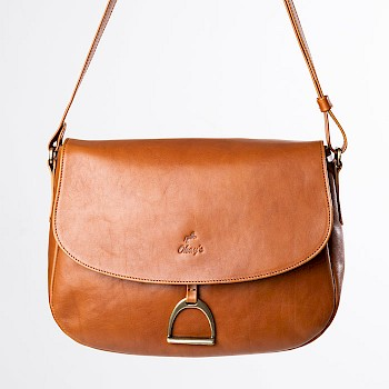 Horse-themed women`s shoulder bag, Camilla