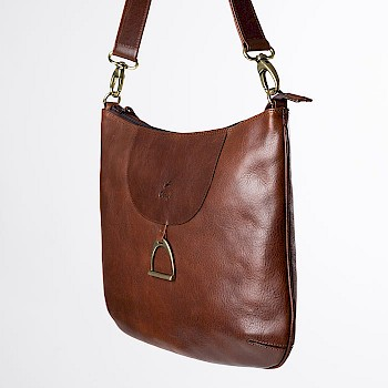 Horse-themed women`s shoulder bag, Caisa