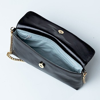 Horse-themed women`s shoulder bag, Linnea